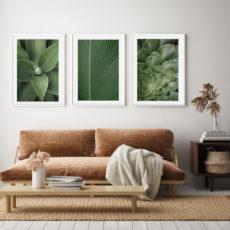 Зеленое трио постеров