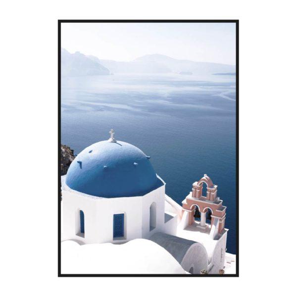 Санторини Вид на горизонт
